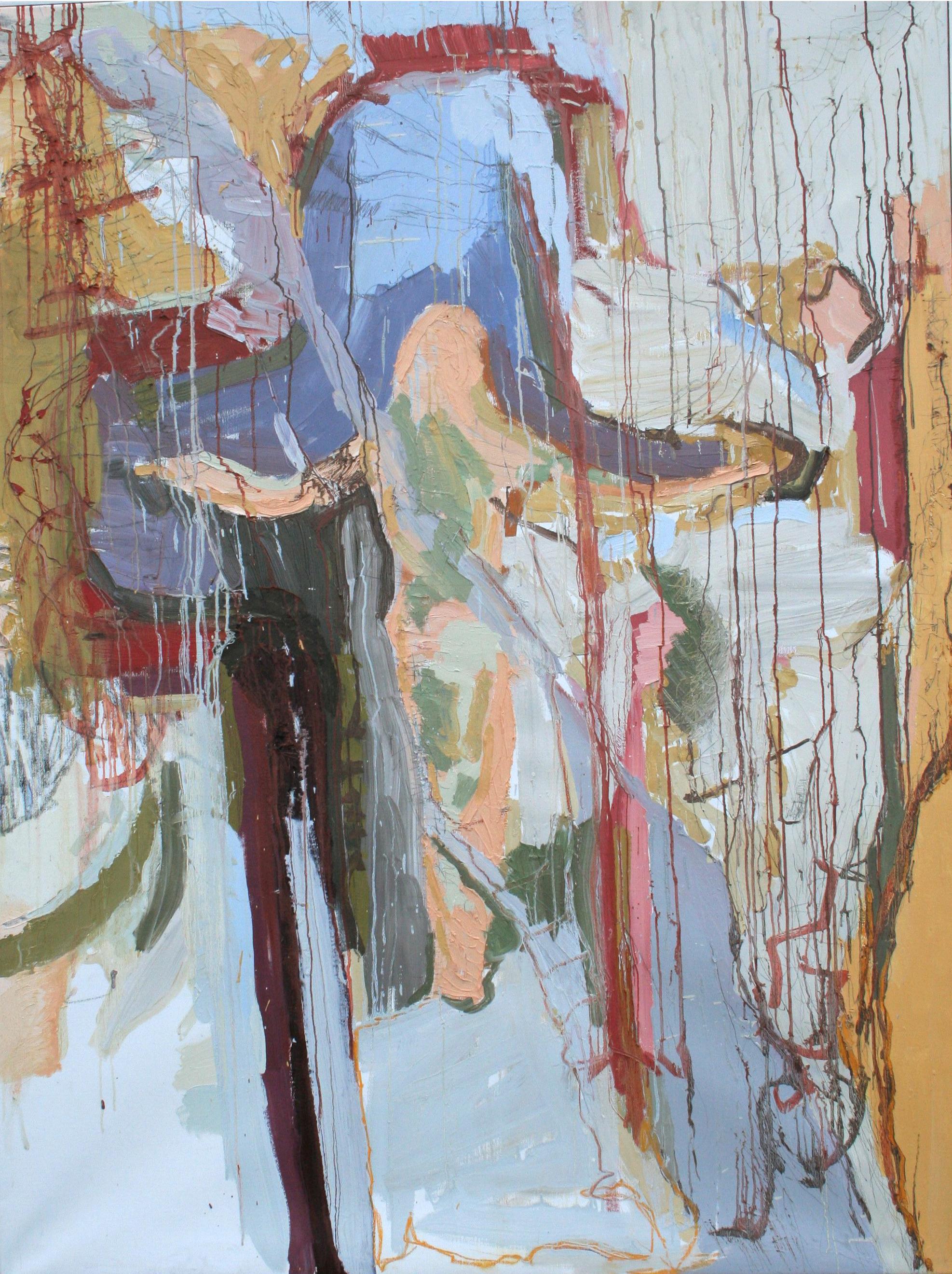 Crucifixion - maleri 200x150 cm